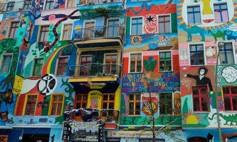 Barrio Friedrichshain de Berlin