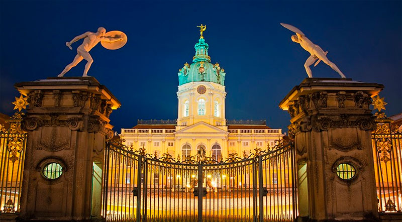 Palacio de charlottenburg berlín